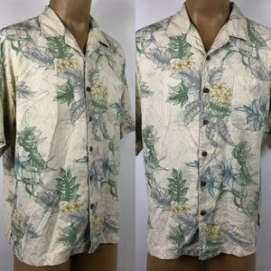 Tommy Bahamas Hawaiian Floral Shirt XL